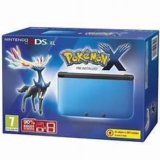 nintendo 3ds console nintendo 3ds xl blue and black console includes