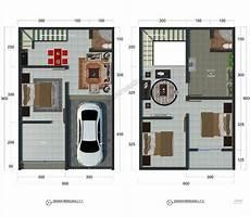 11 Denah Rumah Minimalis Type 36 Terbaru 2020 Dekor Rumah