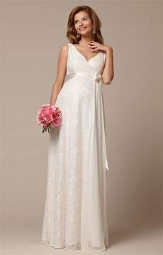 thea maternity gown ivory maternity wedding dresses