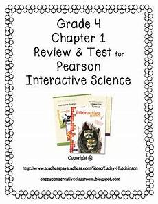 pearson interactive science grade 3 worksheets 12533 pearson interactive science series for 4th grade chapter 1 review and test