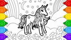 glitter unicorn that s pretty coloring and drawing for