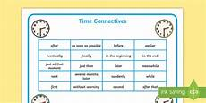 time connectives worksheets grade 2 3515 time connectives year 2 time conjunctions time conjunctions word mat