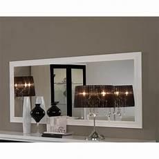 miroir mural blanc miroir mural rectangulaire blanc laqu 233 design maribella