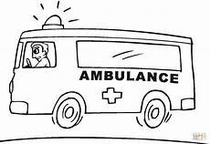 emergency services vehicles colouring pages 16512 ambulance coloring page free printable coloring pages