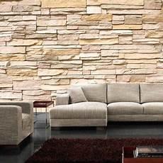 steinwand tapete wohnzimmer atemberaubend steinwand tapete wohnzimmer design