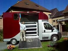 A Vendre Camionnette Transport 2 Chevaux Permis B