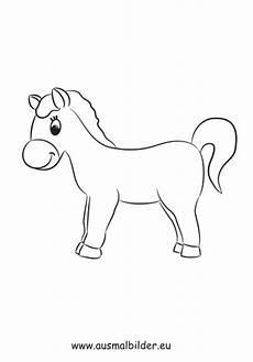 Pferde Ausmalbilder Klein Ausmalbild Kleines Pony Zum Ausdrucken