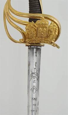 Sabre Des Gardes Du Corps Du Roi Mod 200 Le 1814 Restauration