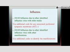coding copd with influenza