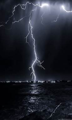 hd wallpapers for iphone lightning 1080x1920 nature landscape lightning above sea jpg desktop
