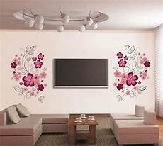 home decor stickers wall stickers flowers home decoration wall decals 60 90cm