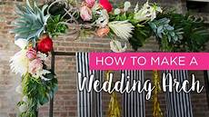 how to wedding arch youtube