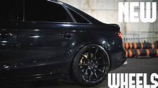 my apr audi s4 got new wheels youtube