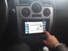 test renault megane cabrio y radio 2 din con gps