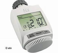 thermostat heizung elektronisch max heizungssteuerung elv so gehts test und