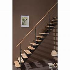 escalier bois droit escalier droit escatwin structure aluminium marche bois