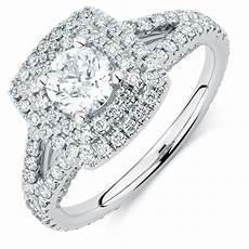 sir michael hill designer grandarpeggio engagement ring with 1 69 carat tw of diamonds in 14ct