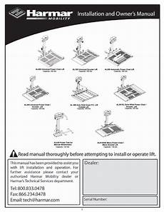 harmar mobility al500 user manual 36 pages