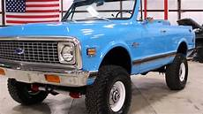 1972 chevy k5 blazer youtube