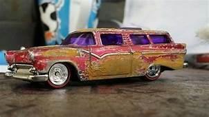 How To Rust Hot Wheels  Custom Hotwheels & Diecast Cars