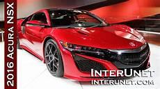 2016 acura nsx new sport car youtube