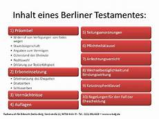 Berliner Testament Muster Mit Erl 228 Uterung Rechtsanwalt