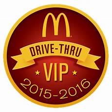 Mcdonald 226 S Drive Thru Vip Sticker