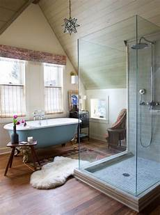 Steam Bath Style Eclectic