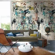 papier peint panoramique design casamance panoramic wallpaper realites collectives multi