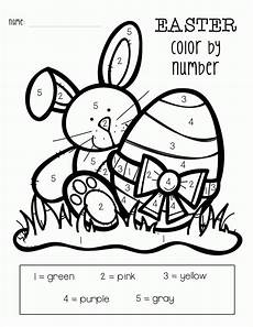 easter color by numbers best coloring pages for