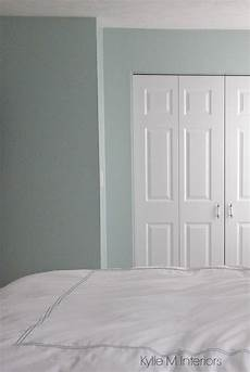 sherwin williams rainwashed is a blue green gray blended paint colours shown in bedroom color