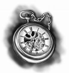 Leoartetattoo Tatoo Uhr Vorlagen Taschenuhr