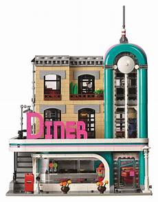 lego creator downtown diner 10260 officially revealed