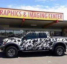 2018 Large Arctic White Camouflage Vinyl For Car Wrap