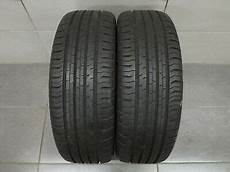 2x summer tyre continental eco contact 5 195 55 r16 91v
