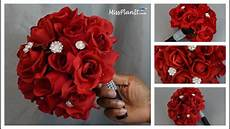 diy rose bridal bouquet weddings a budget diy