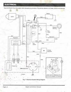 ez go workhorse 1200 wiring diagram