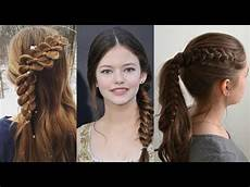 new cute hairstyles for teenage girls 2017 youtube