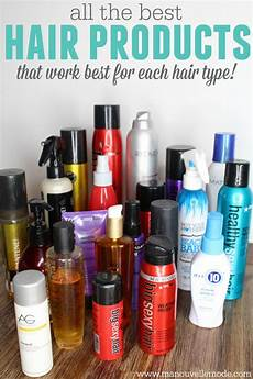 different types of hair gel the best hair products for different hair types