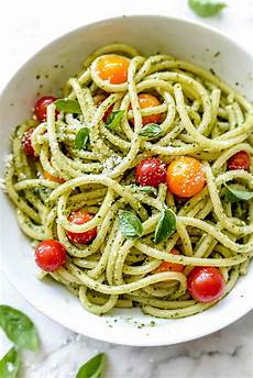 easy homemade pesto pasta recipe foodiecrush com