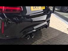 bmw m2 with m performance exhaust cold start youtube