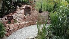 Meine Garten Ruine Steinmauer Garten Gartengestaltung