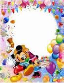 Frame Mickey Mouse & Minnie  Il Magico Mondo Dei Sogni