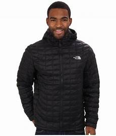 the mens thermoball hooded jacket insulated