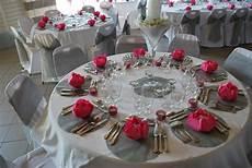 Decoration Mariage Fushia Et Gris