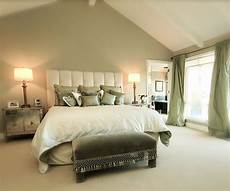 bedroom decorating ideas light green green accent wall the all white bed with