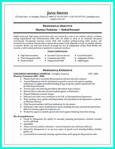 resume template resume objective sle pharmacy technician resume objective