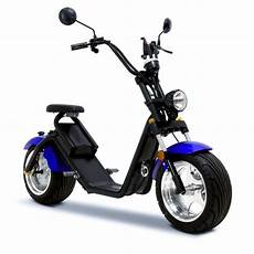 funbikes road blue electric wheel scooter