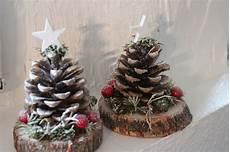 Weihnachtsdeko Quot Zapfentanne Quot Deko Tisch Ein