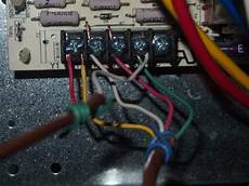 york hvac control board thermostat ac wiring connection doityourself com community